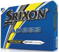 Srixon: 12 Bolas Srixon AD333 Amarilla -