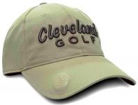 Cleveland: Gorra con Marcador Caqui Logo Negro -