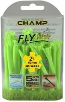 Champ: 30 x Fly Tee 7 cm Verde -