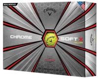 Callaway: Bolas Chrome Soft X Amarillas Grafeno ¡22% dtº! -