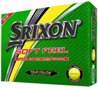 Srixon: 12 Bolas SoftFeel Amarillas ¡41% dtº! -