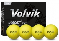 Volvik: Bolas Vimat Soft Amarillas ¡37% dtº! -