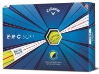 Callaway: 12 Bolas ERC Soft Amarillas ¡36% dtº! -