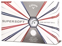 Callaway: 12 Bolas SuperSoft 19 blancas -