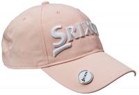 Srixon: Gorra con Marcador Magnético. Rosa Logo Blanco ¡35% dtº! -