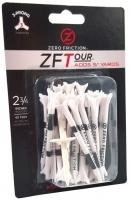 Zero Friction: 40 Tees 3 Prong 7 cm Blancos -