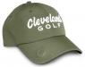 Cleveland: Gorra con Marcador Caqui Logo Blanco -