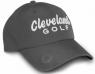 Cleveland: Gorra con Marcador Gris Logo Blanco -