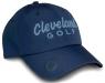 Cleveland: Gorra con Marcador Azul Marino Logo Celeste -