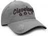 Cleveland: Gorra con Marcador Gris Logo Negro -