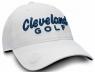 Cleveland: Gorra con Marcador Blanco Logo Azul