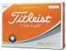 Titleist: Bolas Velocity Naranjas ¡23% dtº!