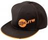 MKids: Gorra Junior Negra/Naranja -