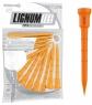 Lignum: 12 tees naranjas de 7 cm ¡30% dtº! -