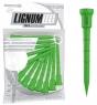 Lignum: 12 tees Verdes de 7 cm ¡30% dtº! -