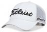 Titleist: Gorra Tour Performance Mesh Blanca Logo Negro ¡32% dt! -