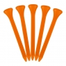 Masters: 1.000 Tees Plástico Naranjas 7 cm -