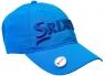 Srixon: Gorra con Marcador Magnético. Azul Claro Logo Azul ¡35% dtº!
