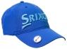 Srixon: Gorra con Marcador Magnético. Azul Logo Celeste ¡35% dtº!