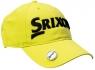 Srixon: Gorra con Marcador Magnético. Amarillo Logo Negro ¡35% dtº! -