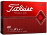 Titleist: 12 Bolas True Feel Rojas ¡19% dtº! -