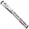 SuperStroke: Grip Traxion Pistol GT 1.0 blanco/rojo para Putter -