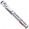 SuperStroke: Grip Traxion Tour 2.0 blanco/rojo para Putter -