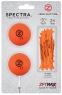 Zero Friction: Pack 2 Bolas + Tees Neon Naranja -