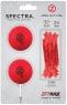 Zero Friction: Pack 2 Bolas + Tees Neon Rojo -