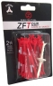 Zero Friction: 40 Tees 3 Prong 7 cm Rojos -
