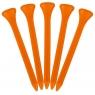 Masters: 30 Tees Plástico Naranja 7 cm -