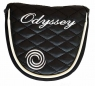 Odyssey: Funda Putter Maza Quilted Negra