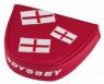 Odyssey: Funda Putter Mallet Bandera Roja