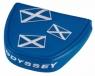 Odyssey: Funda Putter Mallet Bandera Azul