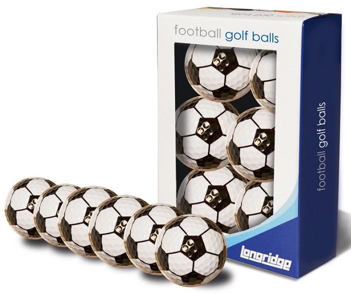 73c3892bbc8d2 Longridge  Bolas de Golf Dibujo Fútbol blancas negras ¡33% dtº! -