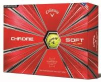 Callaway: Bolas Chrome Soft Grafeno Amarillas ¡22% dtº! -