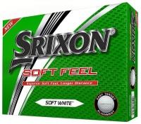 Srixon: 12 Bolas SoftFeel Blanca ¡41% dtº! -