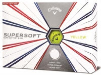 Callaway: 12 Bolas SuperSoft Amarillas ¡20% dtº! -