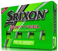 Srixon: 12 Bolas SoftFeel Verde Matte -