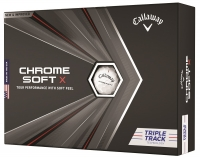 Callaway: Bolas Chrome Soft X Triple Track  ¡15% dtº! -