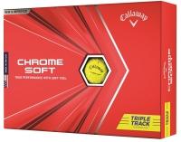 Callaway: Bolas Chrome Soft Triple Track Amarilla ¡15% dtº! -