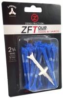 Zero Friction: 40 Tees 3 Prong 7 cm Azules -