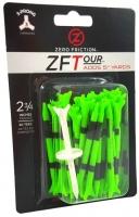 Zero Friction: 40 Tees 3 Prong 7 cm Verde Limón -