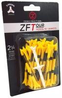 Zero Friction: 40 Tees 3 Prong 7 cm Amarillos -
