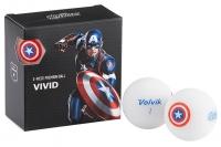 Volvik: Bolas Marvel Pack 4 Capitán America -