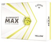 Callaway: 12 Bolas Supersoft Max Amarillas ¡15% dtº! -