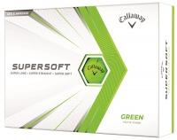 Callaway: 12 Bolas Supersoft Verdes ¡15% dtº! -