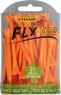 Champ: 30 x Fly Tee 7 cm Naranja -
