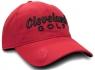 Cleveland: Gorra con Marcador Rojo Logo Negro -