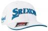 Srixon: Gorra Tour Blanca Logo Azul ¡35% dtº! -